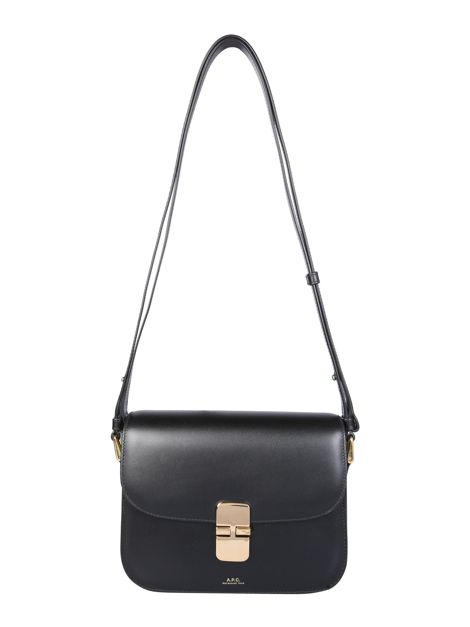 A.p.c. Grace Bag In Nero
