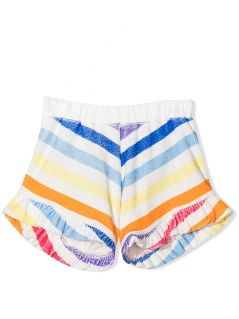 Douuod Shorts SHORTS A RIGHE CON RUCHES