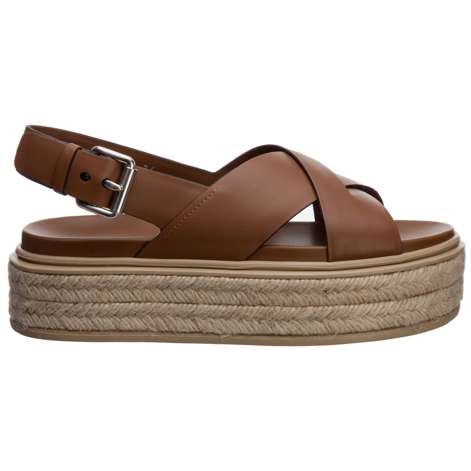 Prada Teddy Bear Sandals