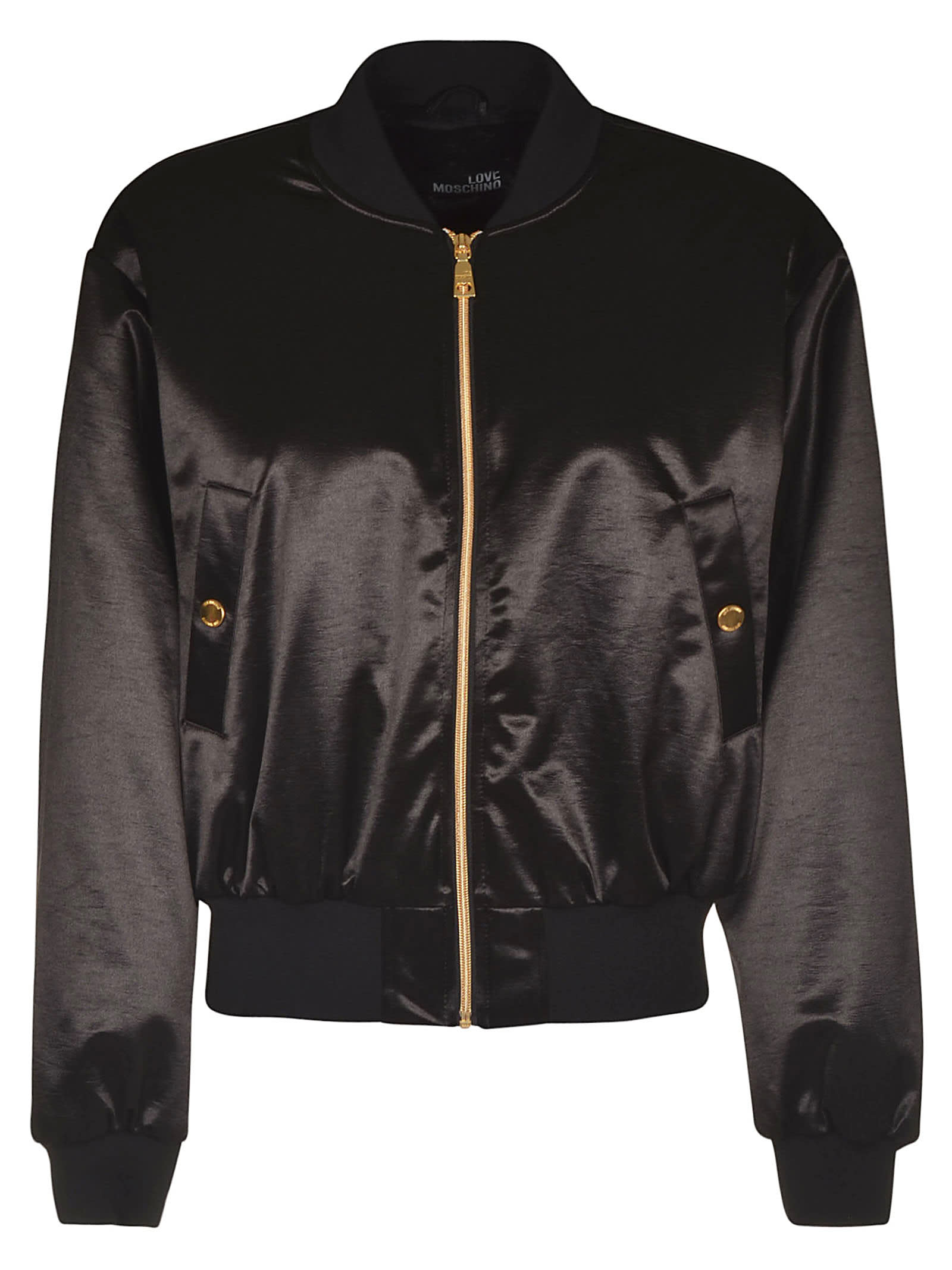 Love Moschino Rear Logo Bomber