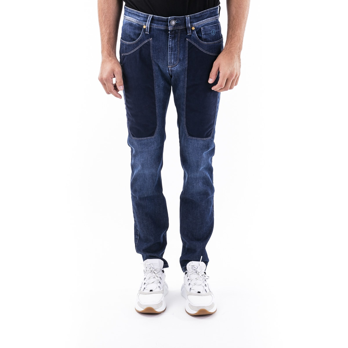 Jeans In Cotton Blend Jeckerson
