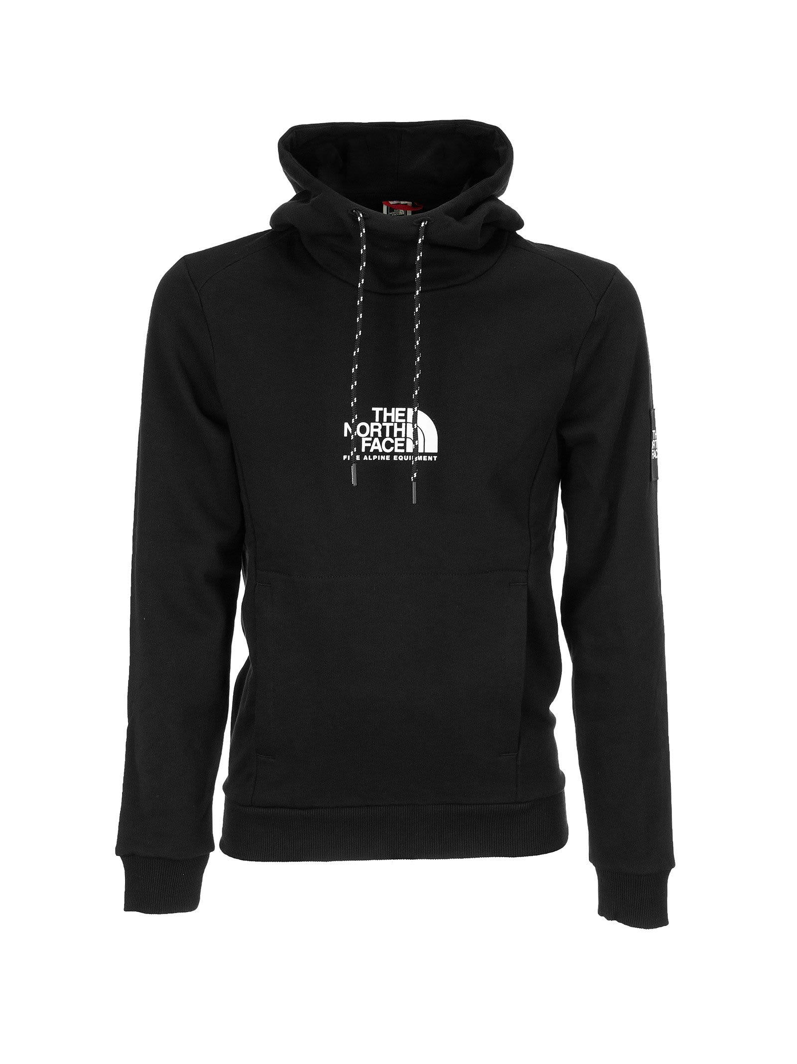 The North Face FINE ALPINE COTTON SWEATSHIRT WITH HOOD