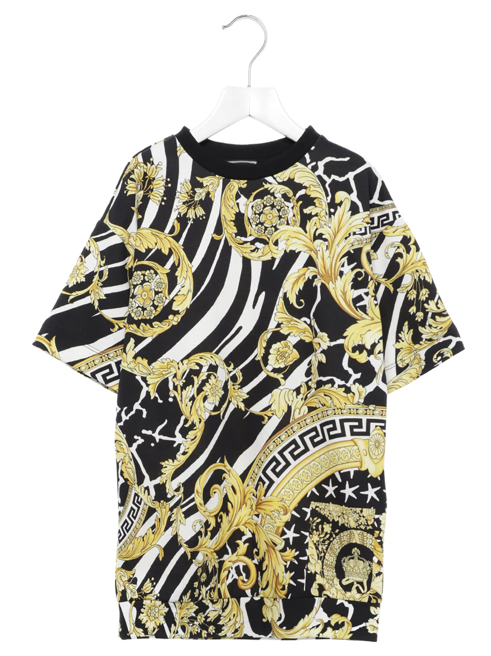 Photo of  Young Versace versace Barocco Dress- shop Young Versace  online sales