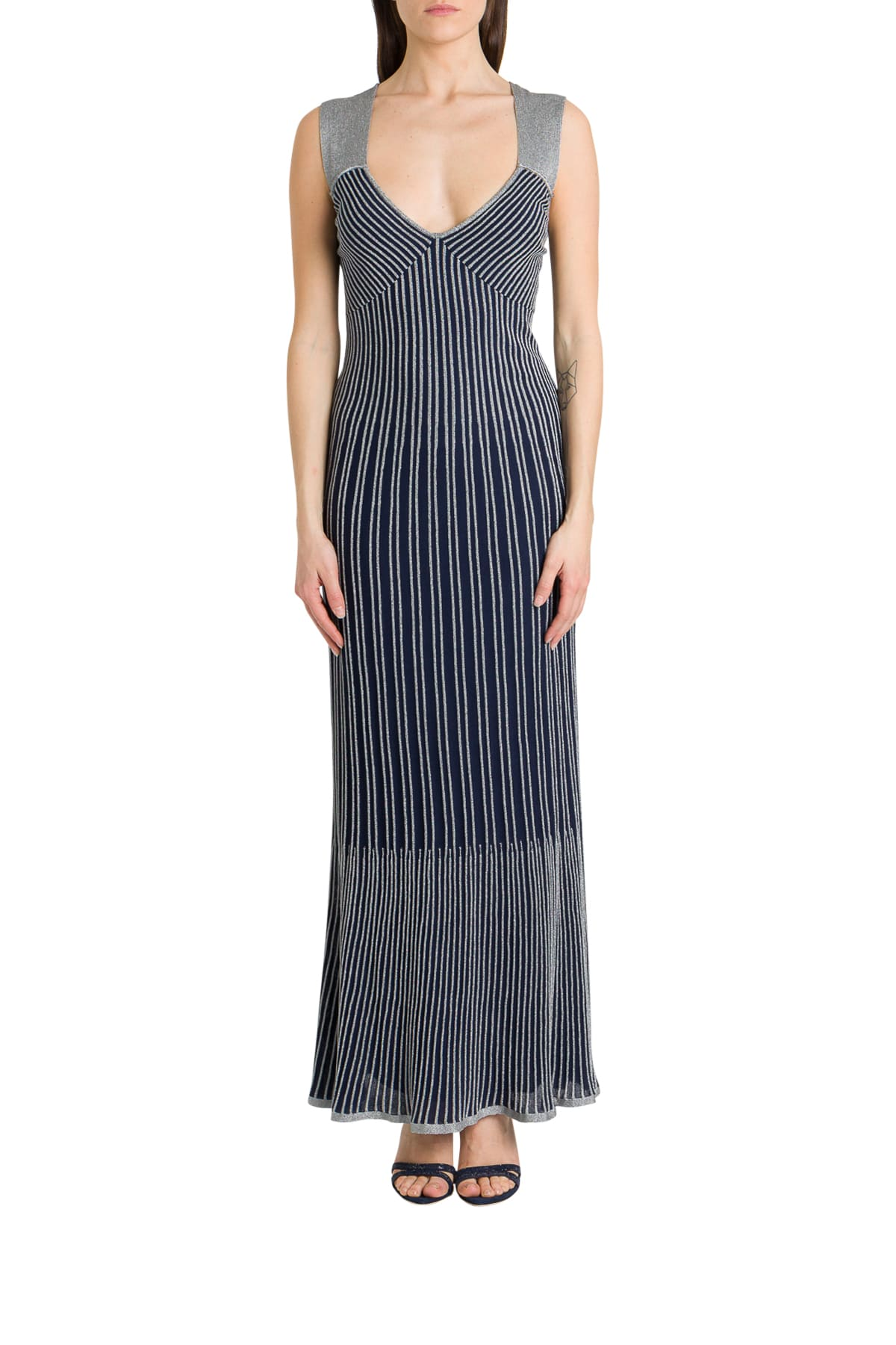 Buy M Missoni Maxi Dress In Lurex Knit online, shop M Missoni with free shipping