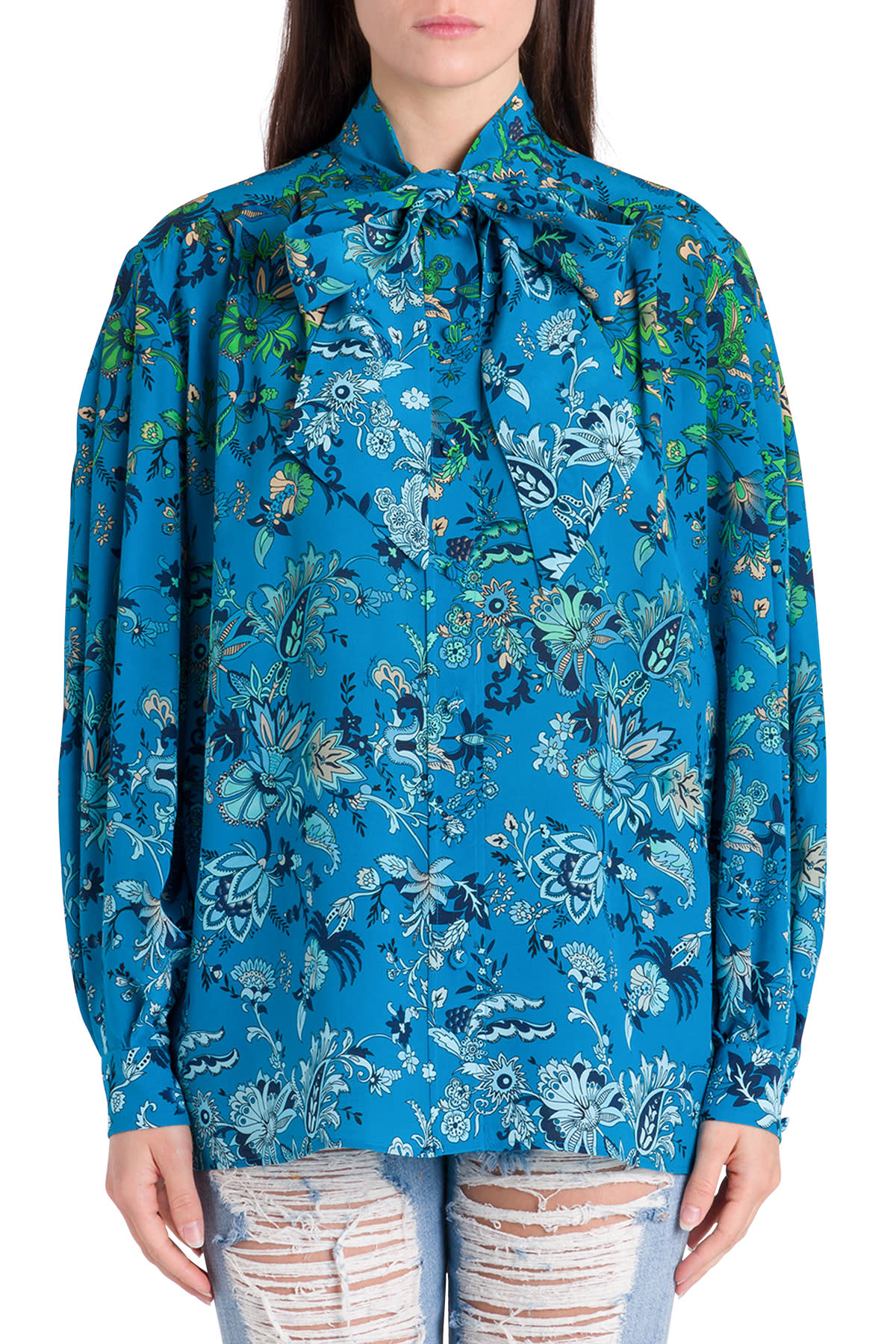 Givenchy Floral Blouse