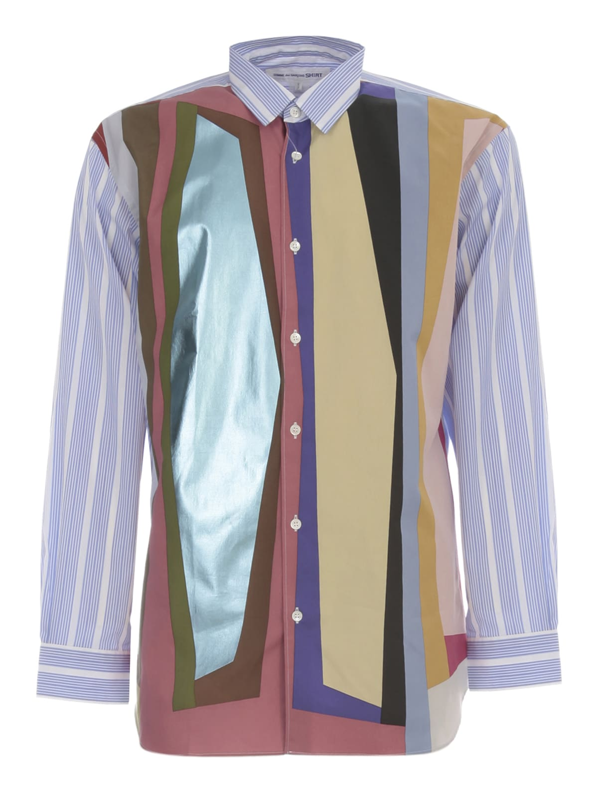 Comme des Garçons Shirt Cotton Popeline Printed Shirt