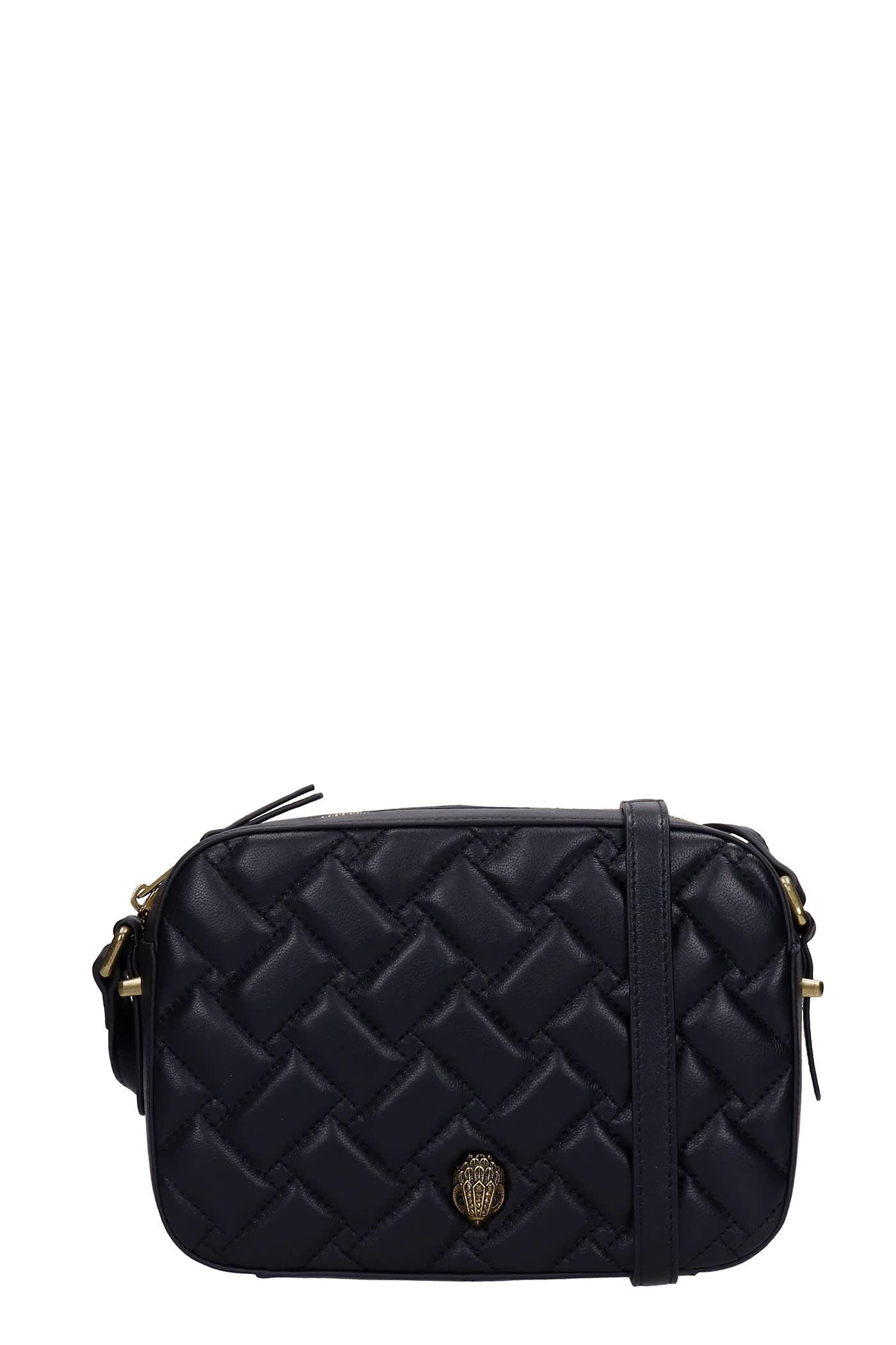 Kensington Shoulder Bag In Black Leather