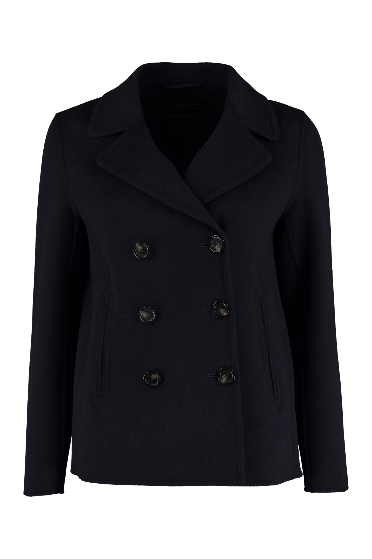 Weekend Max Mara Pino Double-breasted Coat