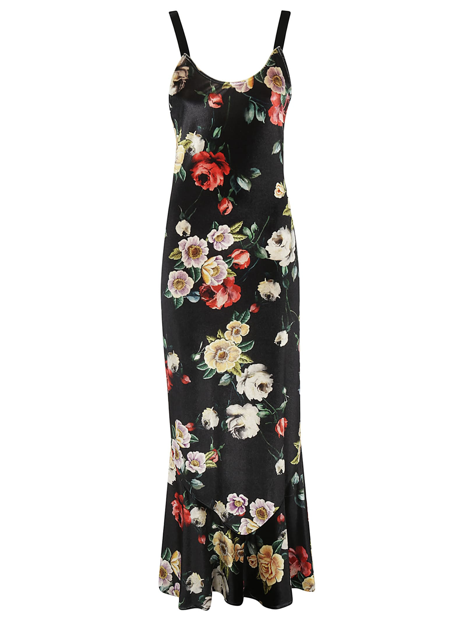 The Attico Floral Long Dress