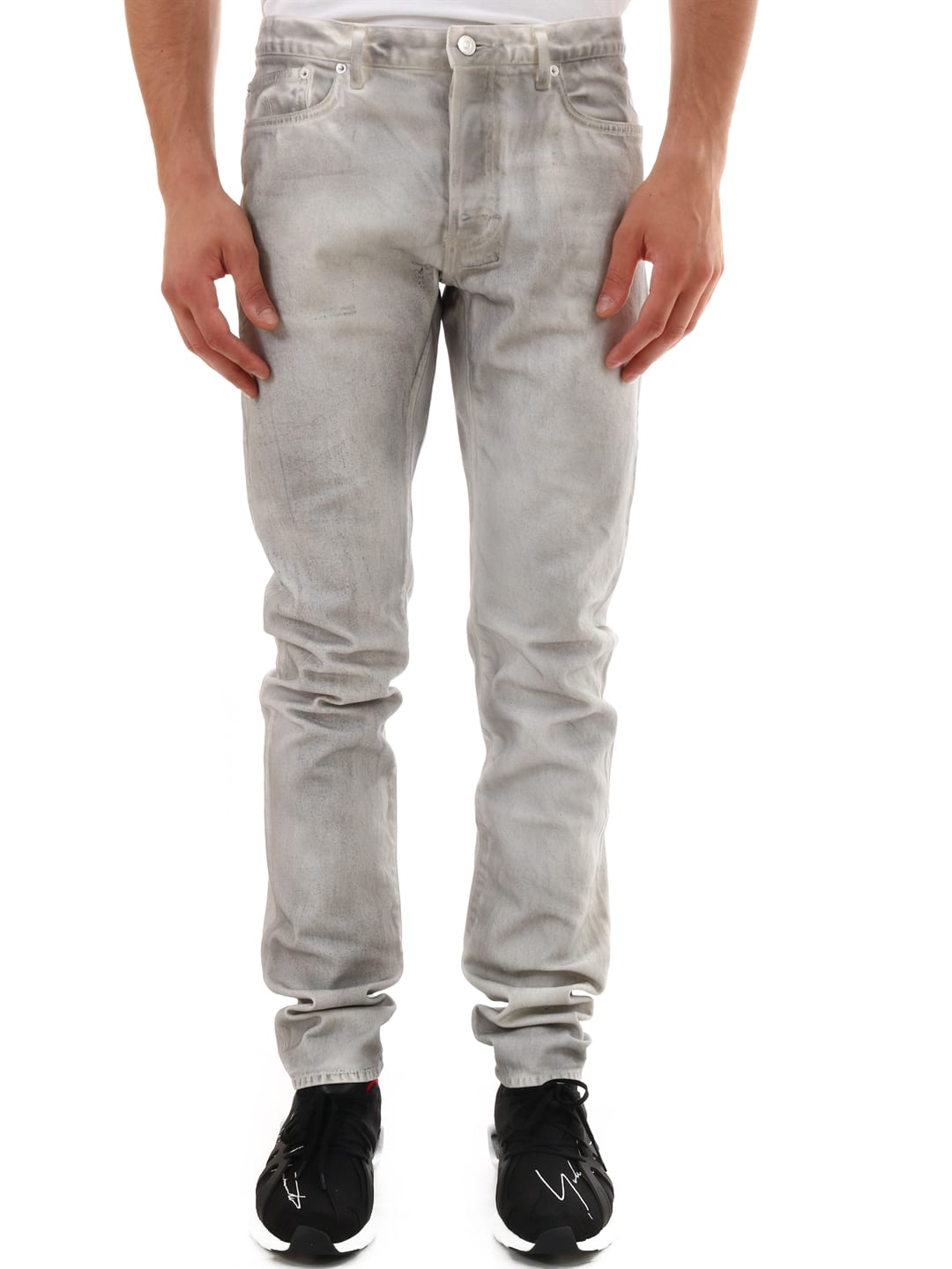 Slim Jeans Overdyed Effect