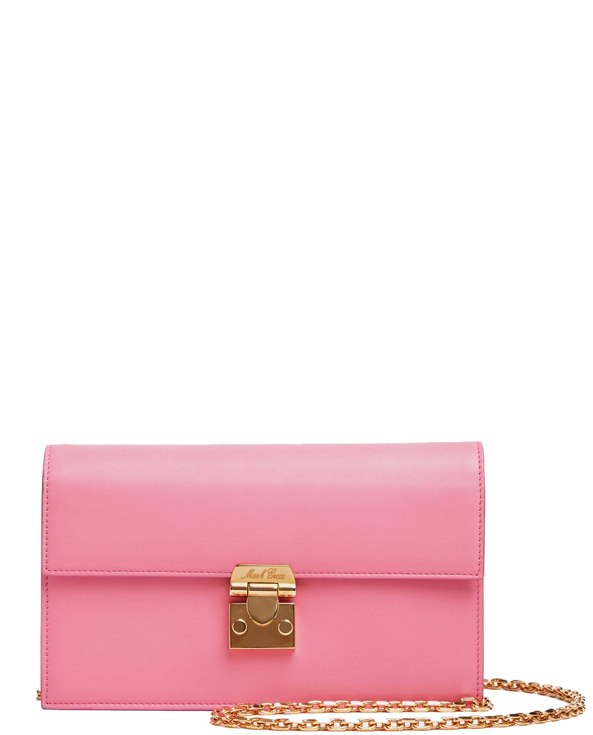 Mark Cross Pink Jacquile Wallet Bag