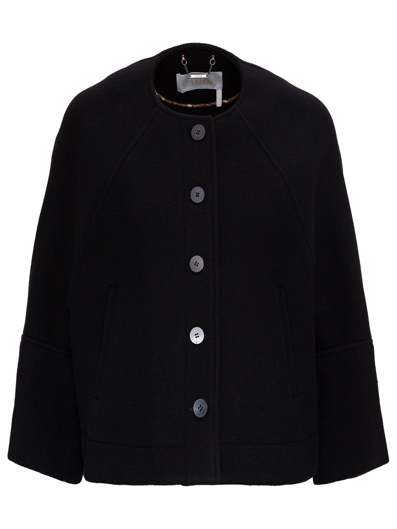 Chloé BOXY JACKET IN WOOL