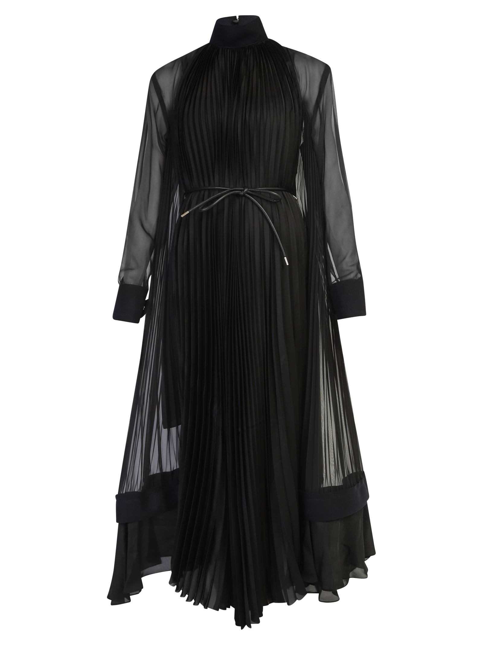 Sacai Dresses PLEATED DRESS