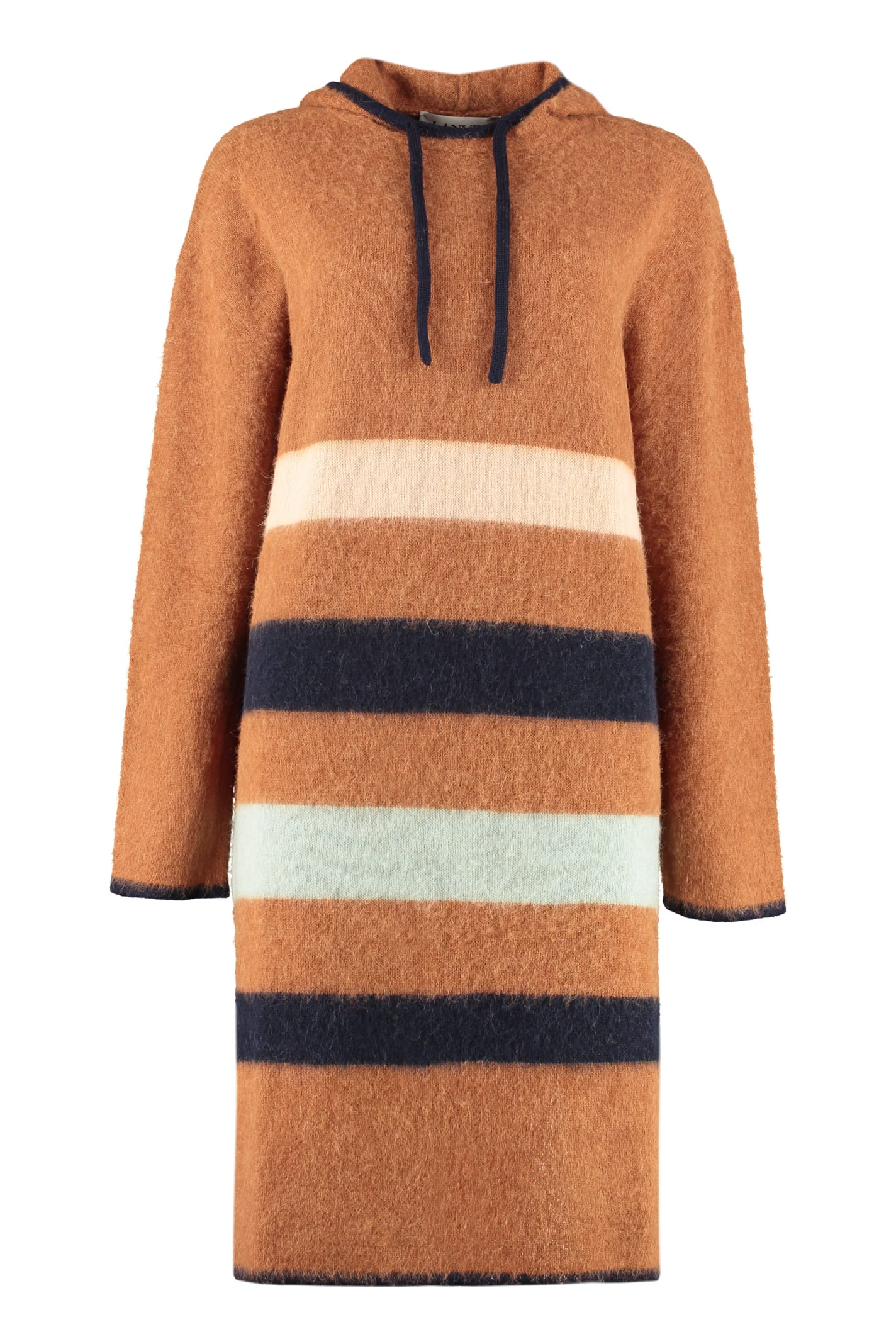 Buy Lanvin Hooded Sweater Dress online, shop Lanvin with free shipping