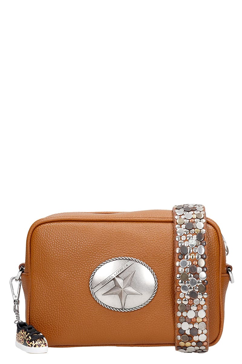 Golden Goose STAR BAG SHOULDER BAG IN LEATHER COLOR LEATHER