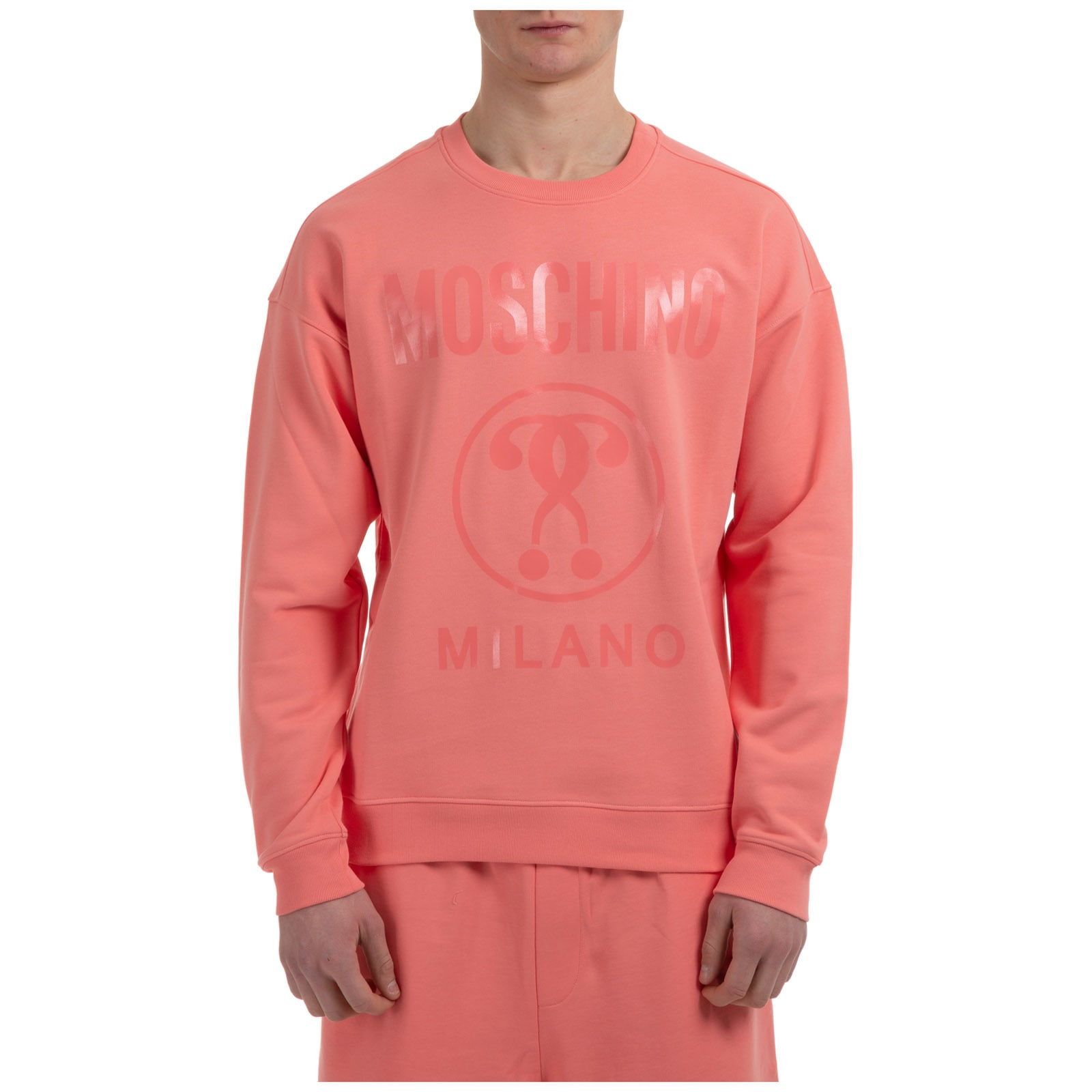 Moschino DOUBLE QUESTION MARK SWEATSHIRT