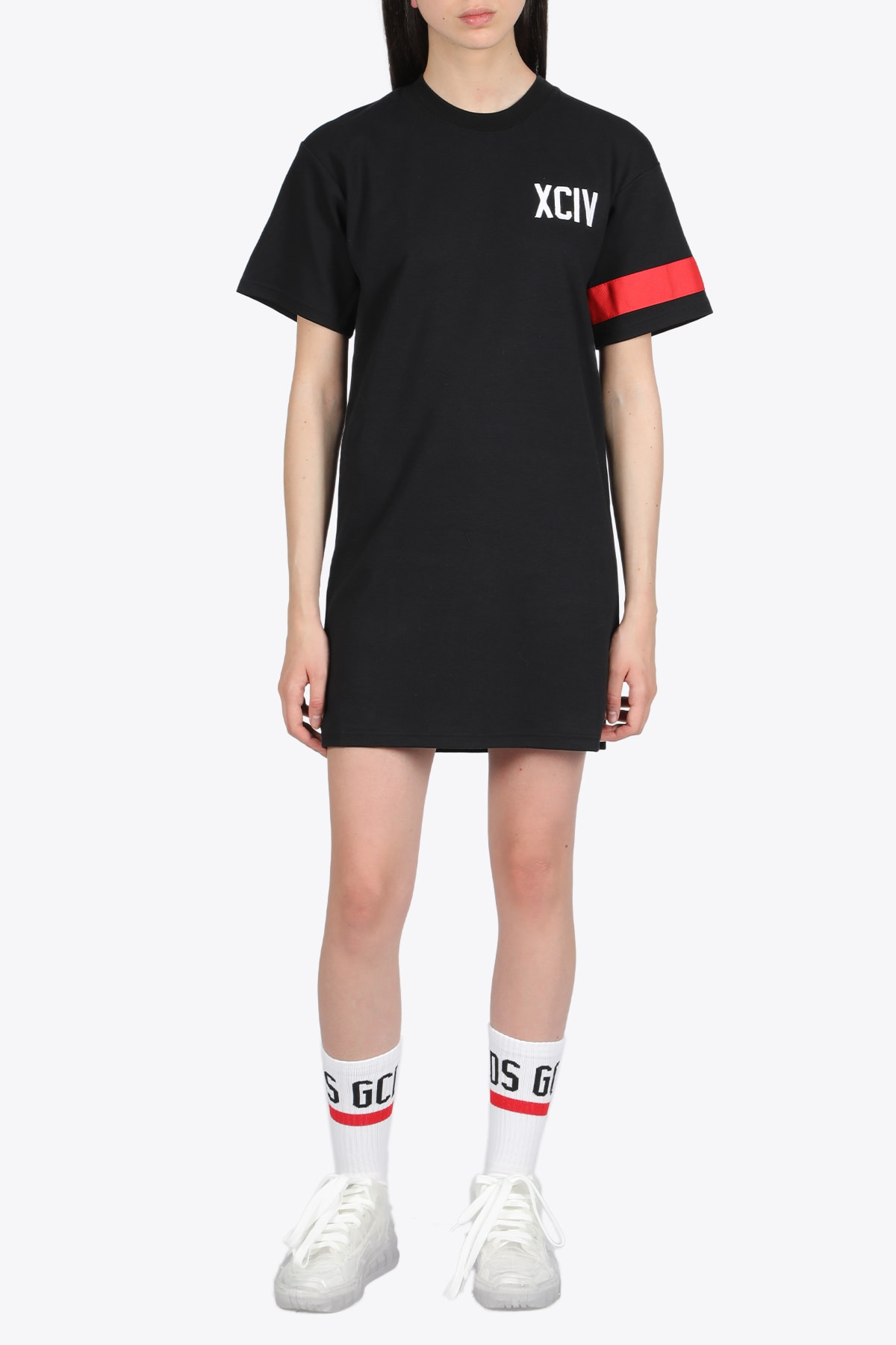 Buy Logo Tee Dress online, shop GCDS with free shipping