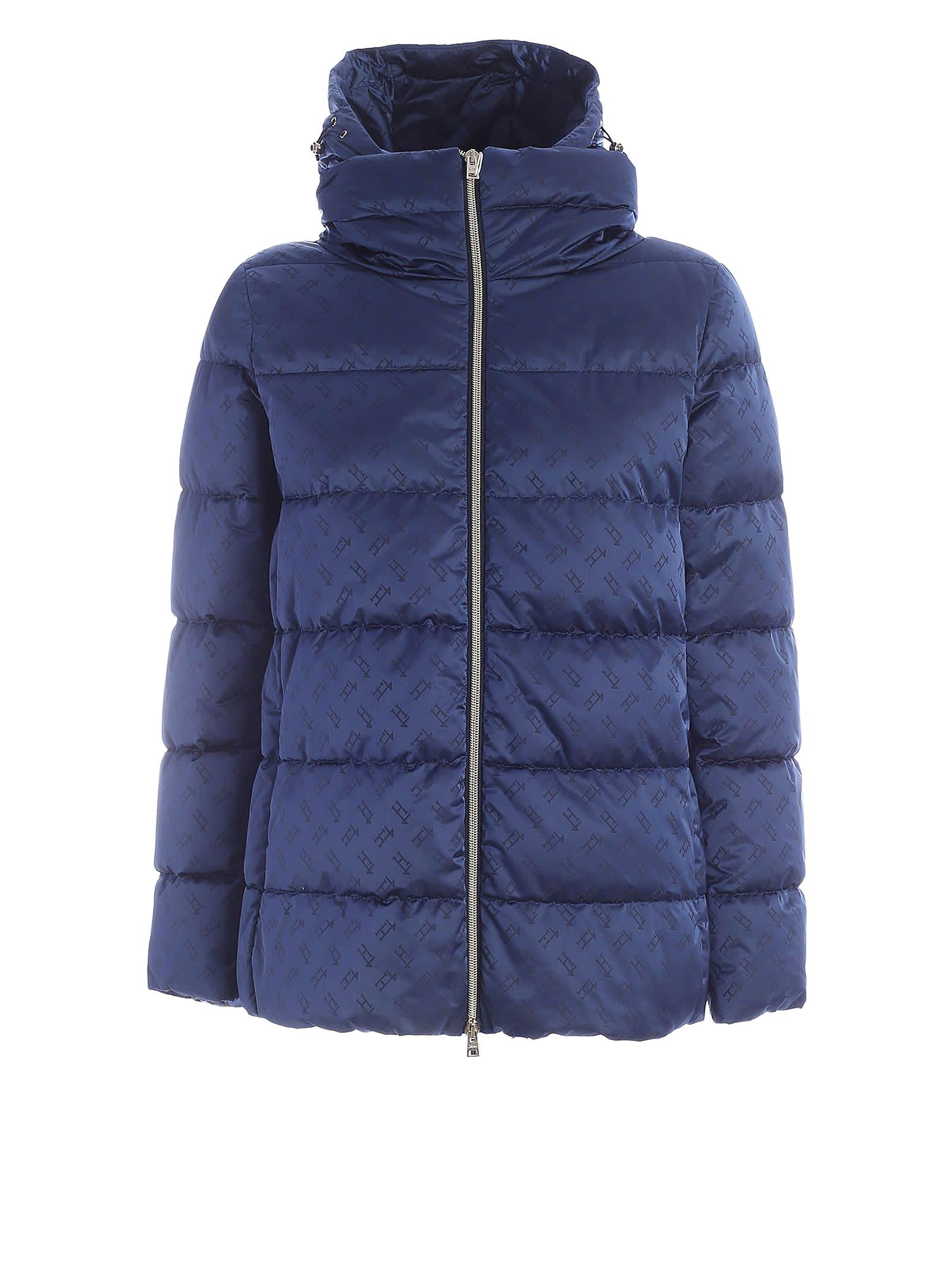 Herno Herno Blue Down Jacket