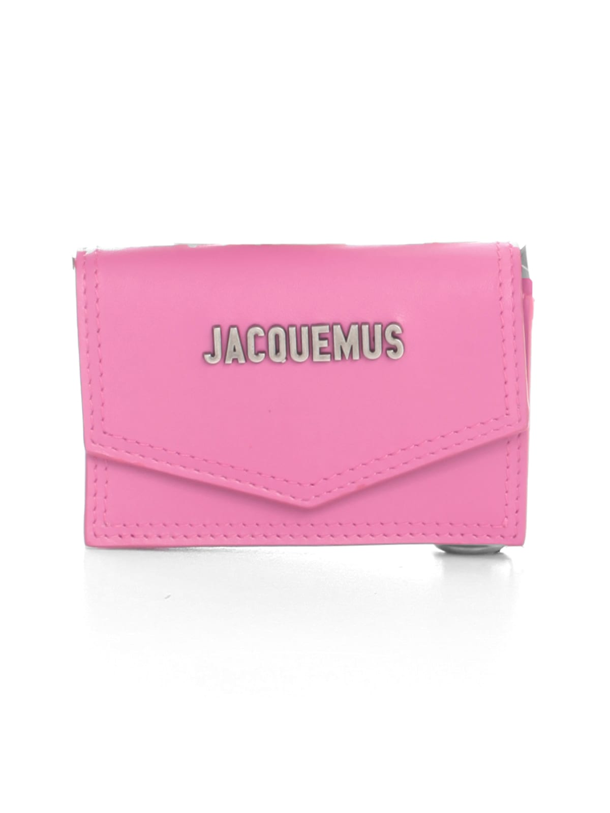 Jacquemus Le Porte Azur Small Leather Crossbody In Pink