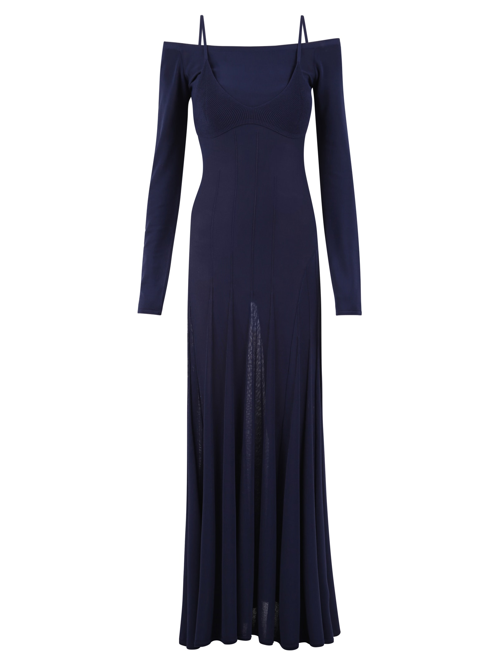 Buy Jacquemus Long Length Dress online, shop Jacquemus with free shipping