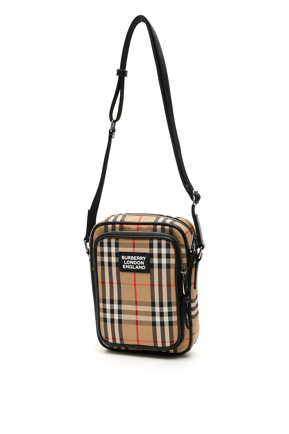 Burberry CHECK MEDIUM FREDDIE MESSENGER BAG
