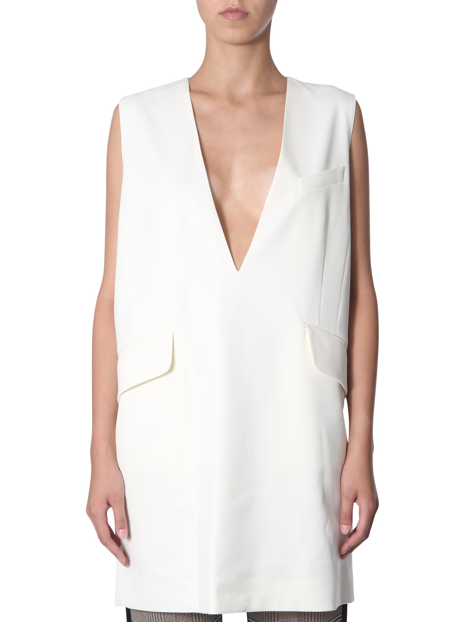 MM6 Maison Margiela V-neck Dress