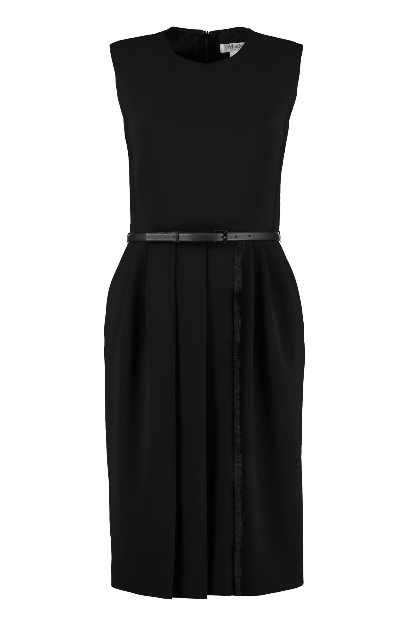Buy Max Mara Pedale Belted Sheath Dress online, shop Max Mara with free shipping