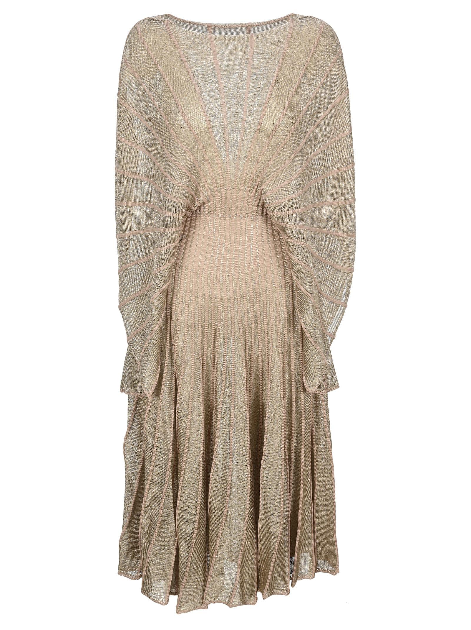 Buy Stella Mccartney Knit And Lurex Midi Dress online, shop Stella McCartney with free shipping