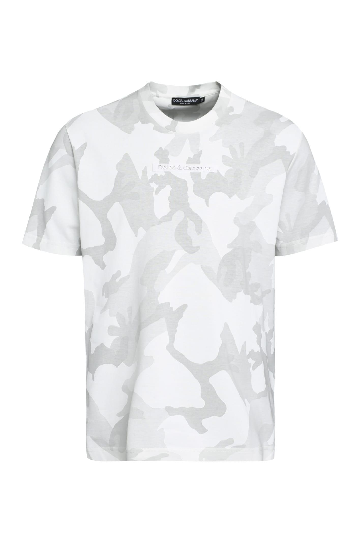 Dolce & Gabbana T-shirts COTTON CREW-NECK T-SHIRT