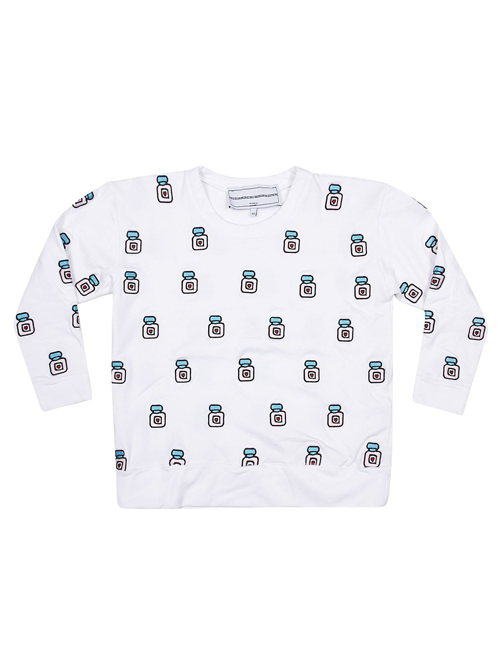 All-over Motif Sweatshirt