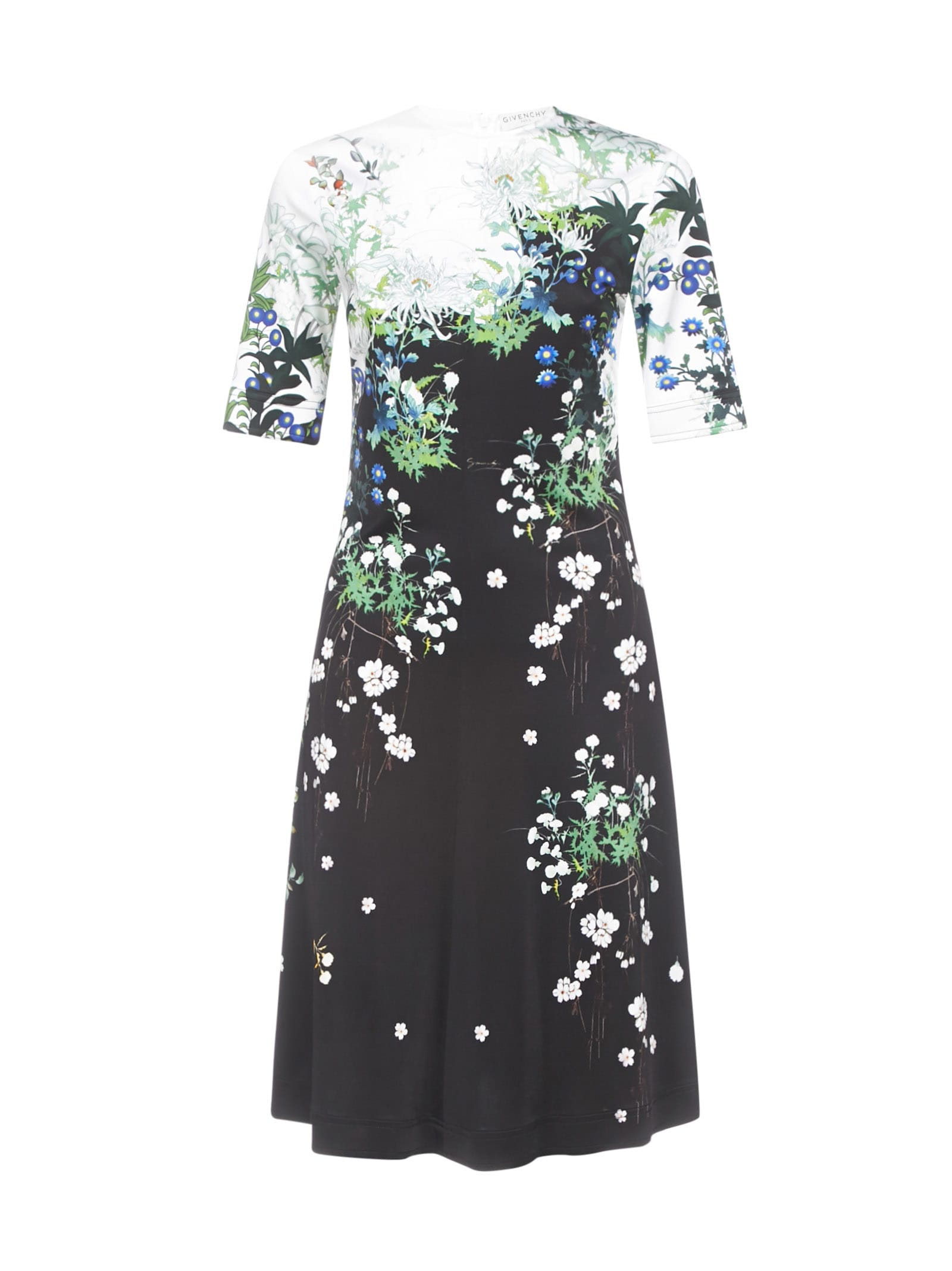 Buy Givenchy Flowers Dress online, shop Givenchy with free shipping