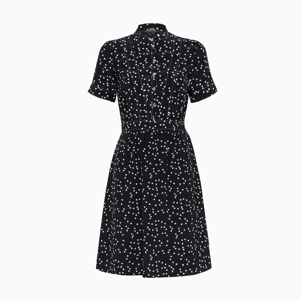 Buy A.p.c. Camille Dress Seaji-f05802 online, shop A.P.C. with free shipping