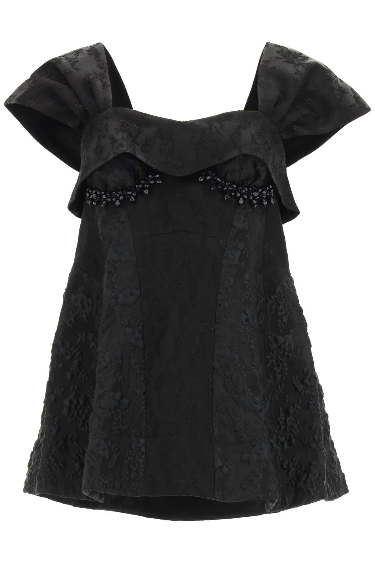 Simone Rocha SHAPED JACQUARD TOP