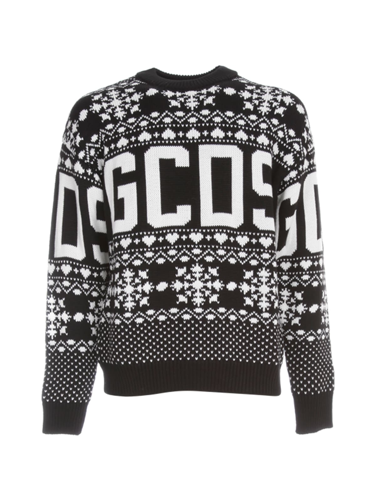 Gcds Sweaters CHRISTMAS SWEATER L/S CREW NECK