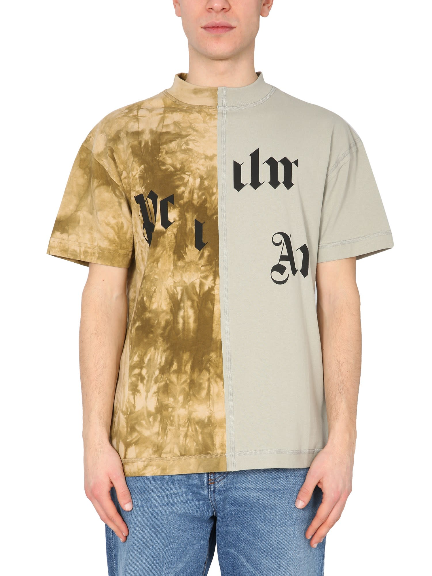 Palm Angels T-shirts MILITARY T-SHIRT
