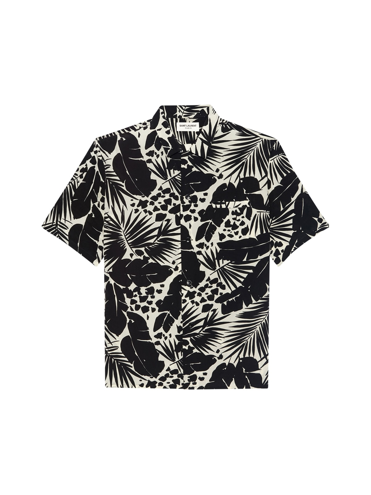 Saint Laurent COL REQUIN SHIRT