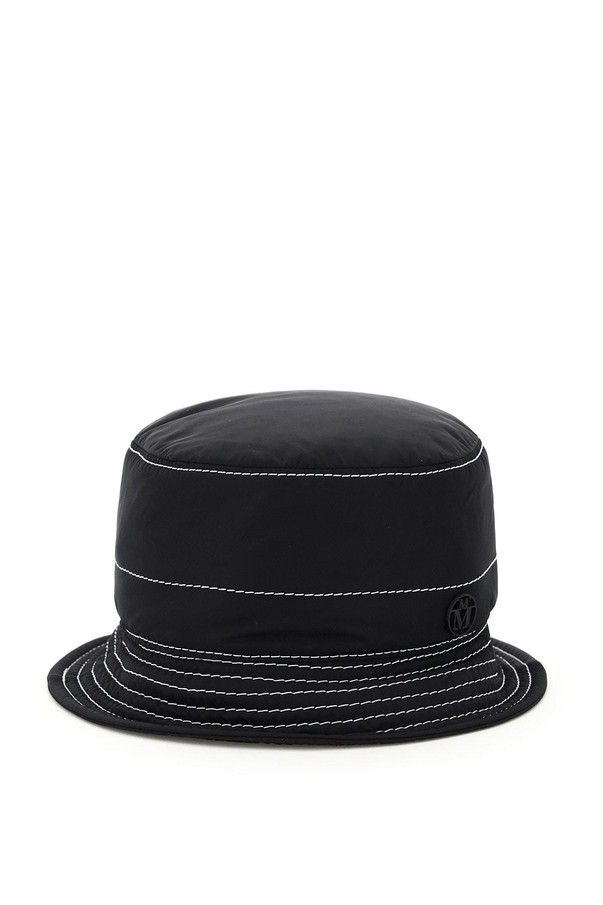 Maison Michel Hats AXEL NYLON BUCKET HAT