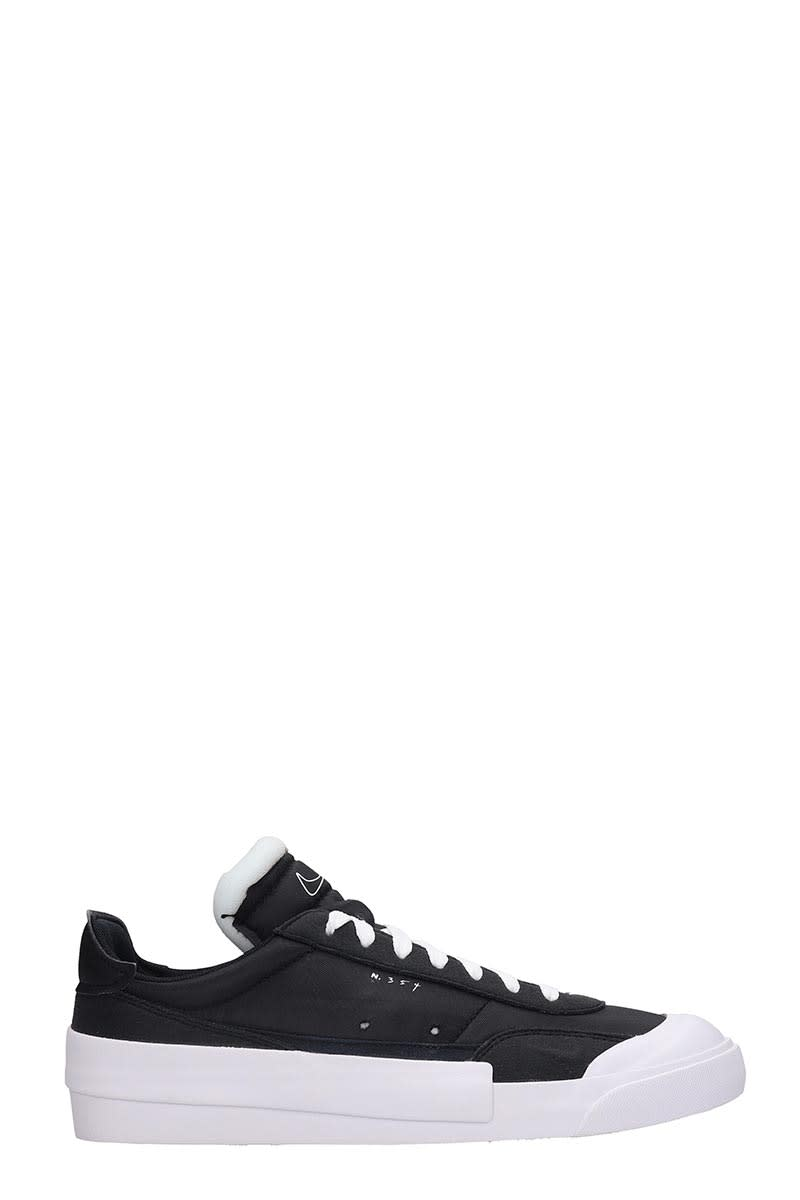 Nike Drope Type Lx Sneakers In Black Tech/synthetic