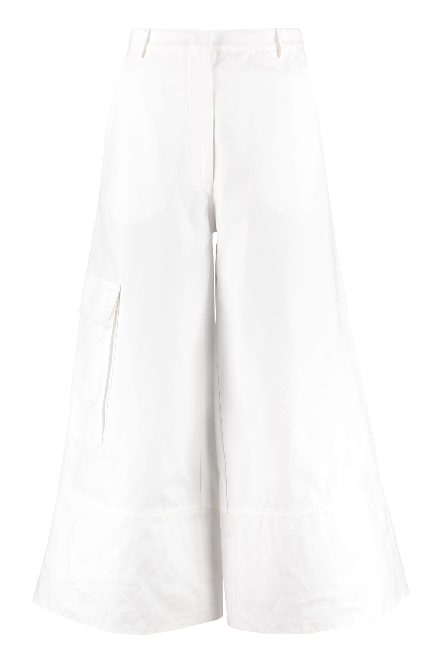 Moncler High-rise Culotte Jeans