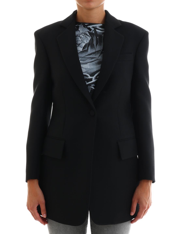 Valentino Black Silk Blazer