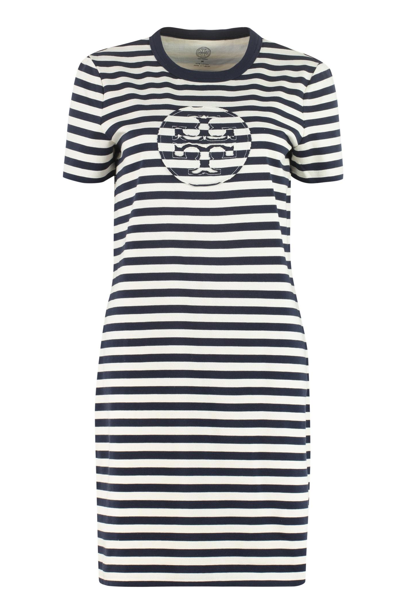 Buy Tory Burch Cotton T-shirt Dress online, shop Tory Burch with free shipping