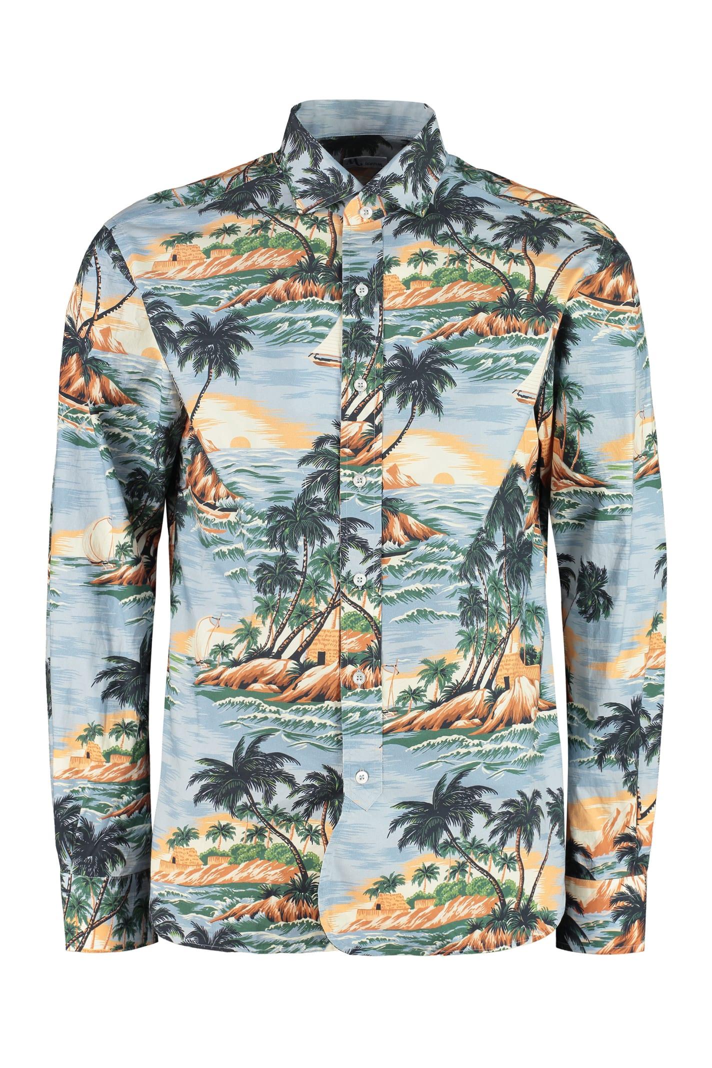Aanacapri Printed Cotton Shirt