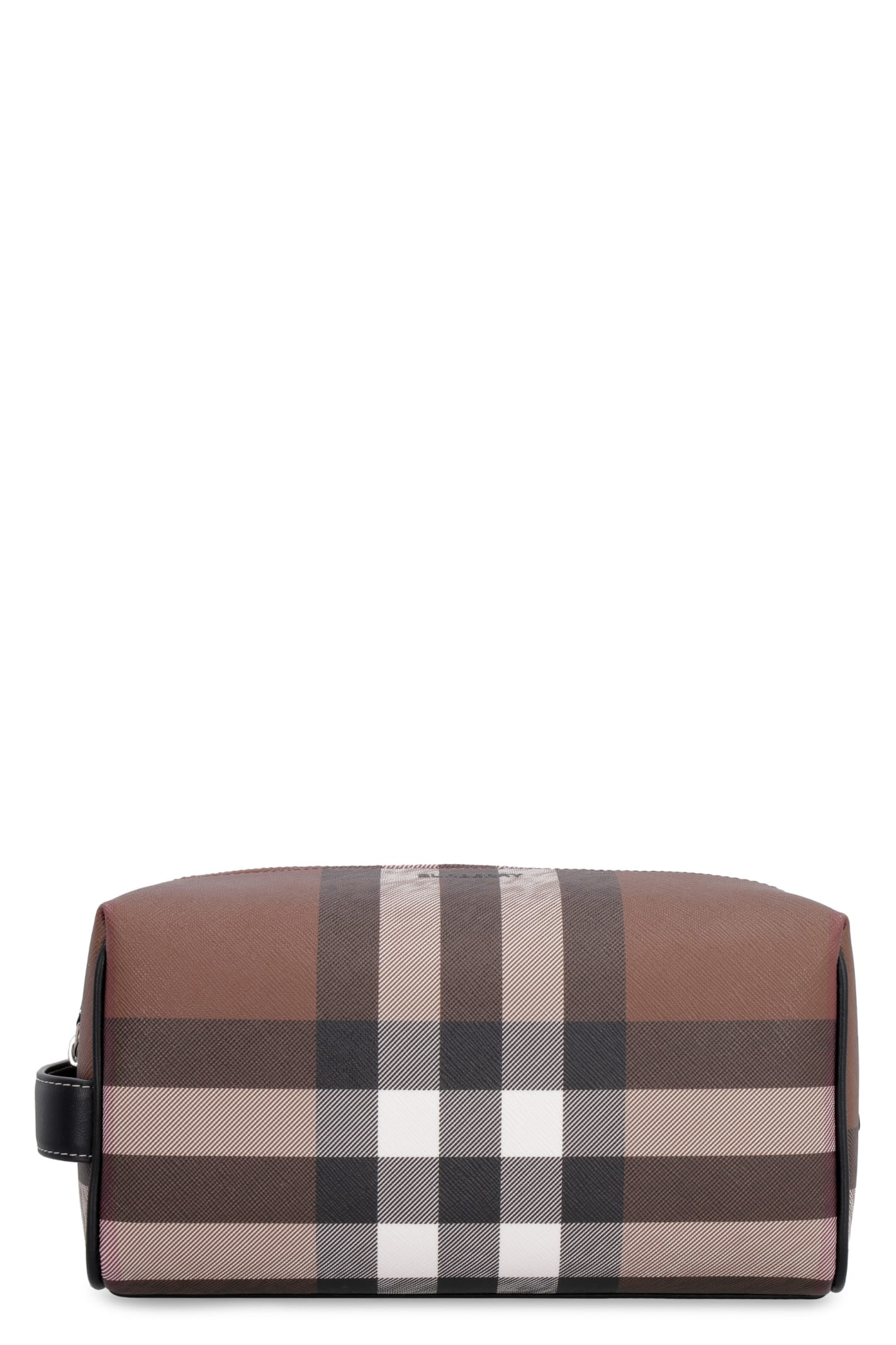 Burberry Leathers E-CANVAS BEAUTY CASE