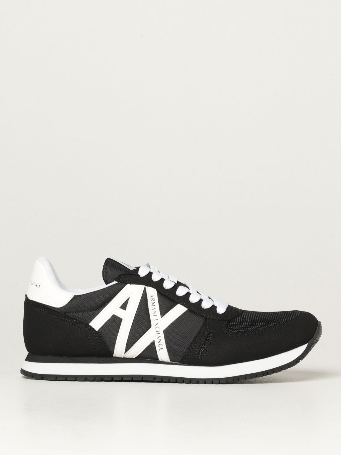 Armani Exchange Sneakers Armani Exchange Sneakers In Fabric And Synthetic Suede