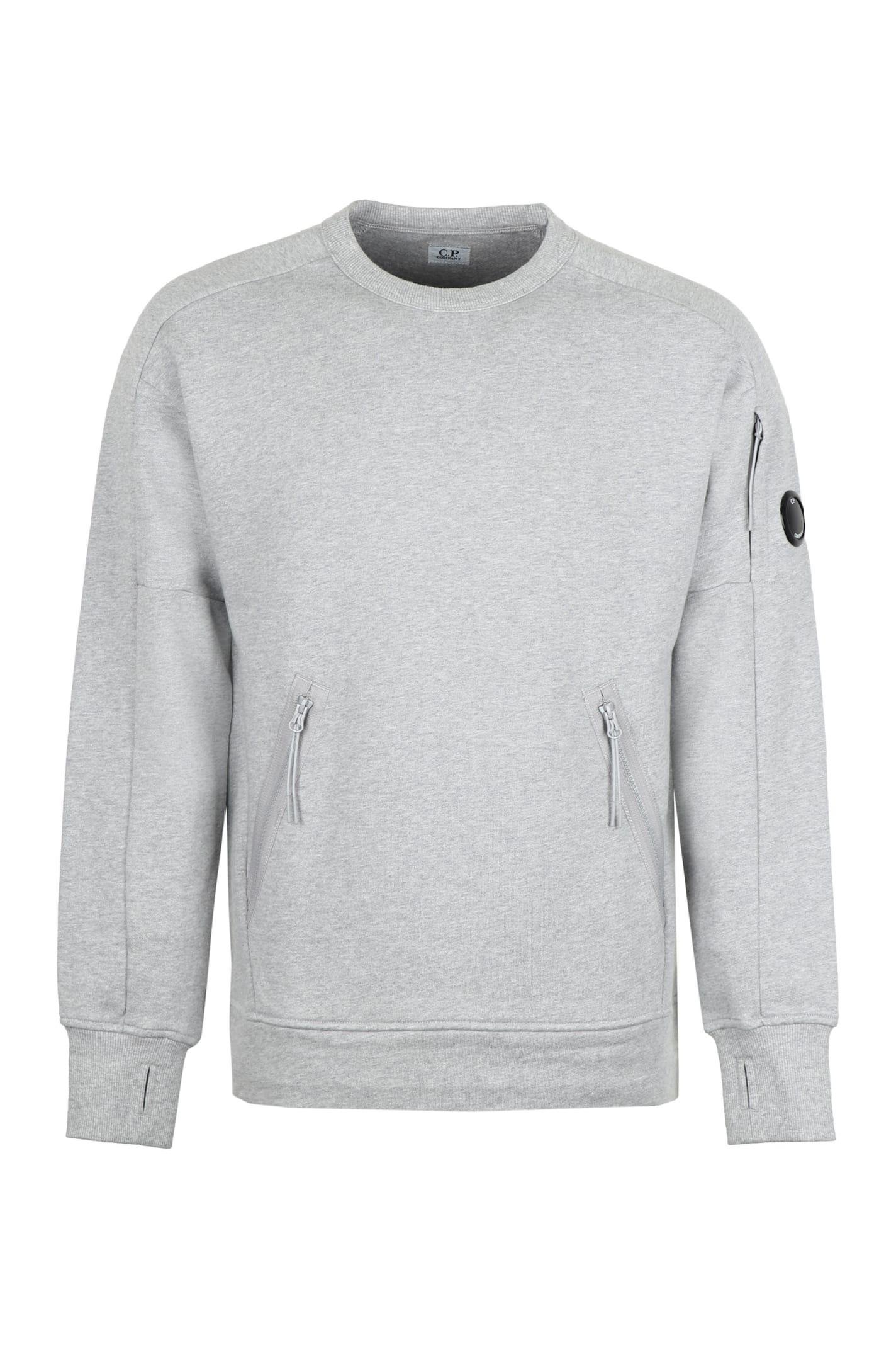 C.p. Company Sweaters COTTON CREW-NECK SWEATSHIRT