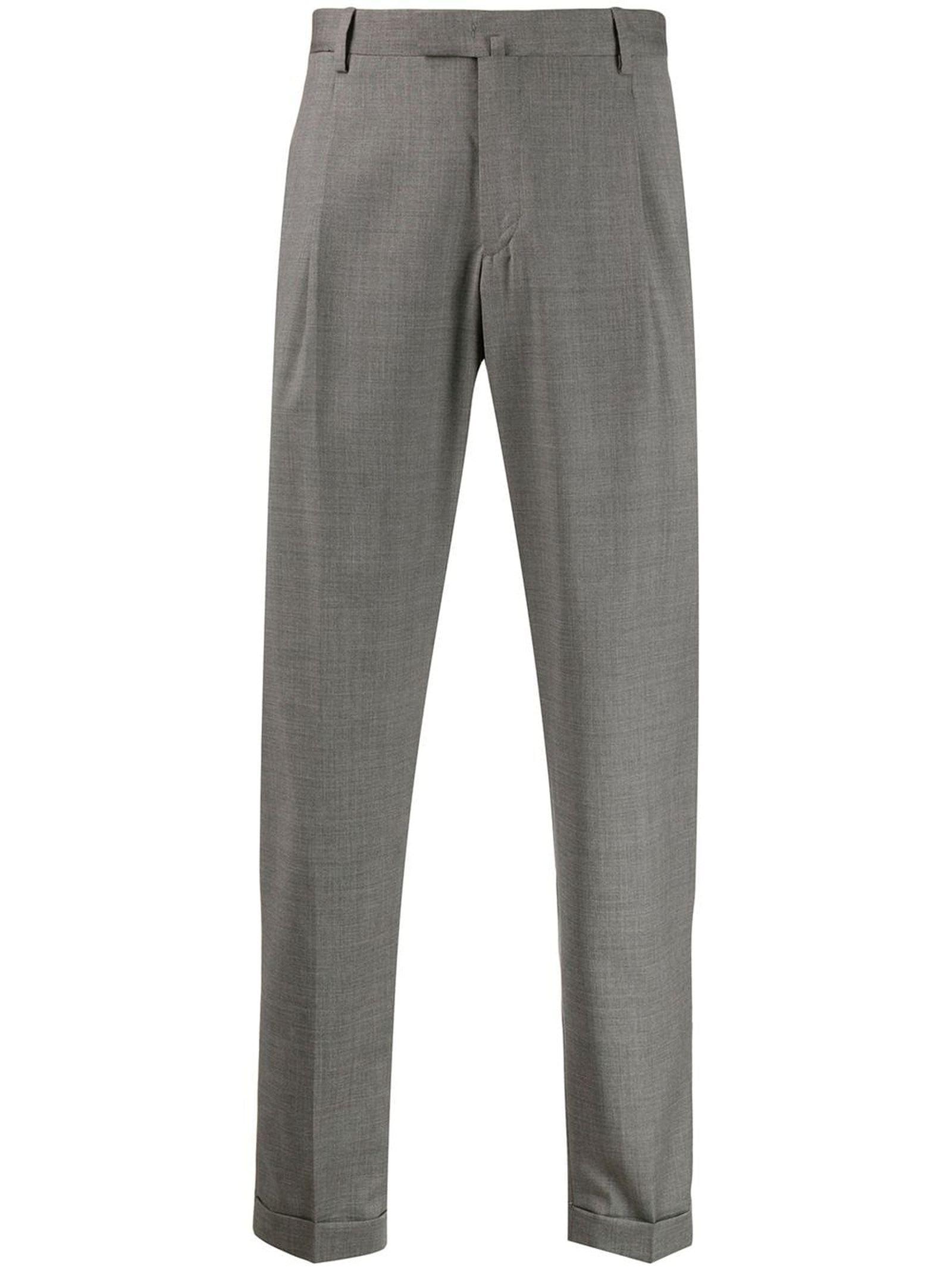 1949 Grey Virgin Wool Trousers