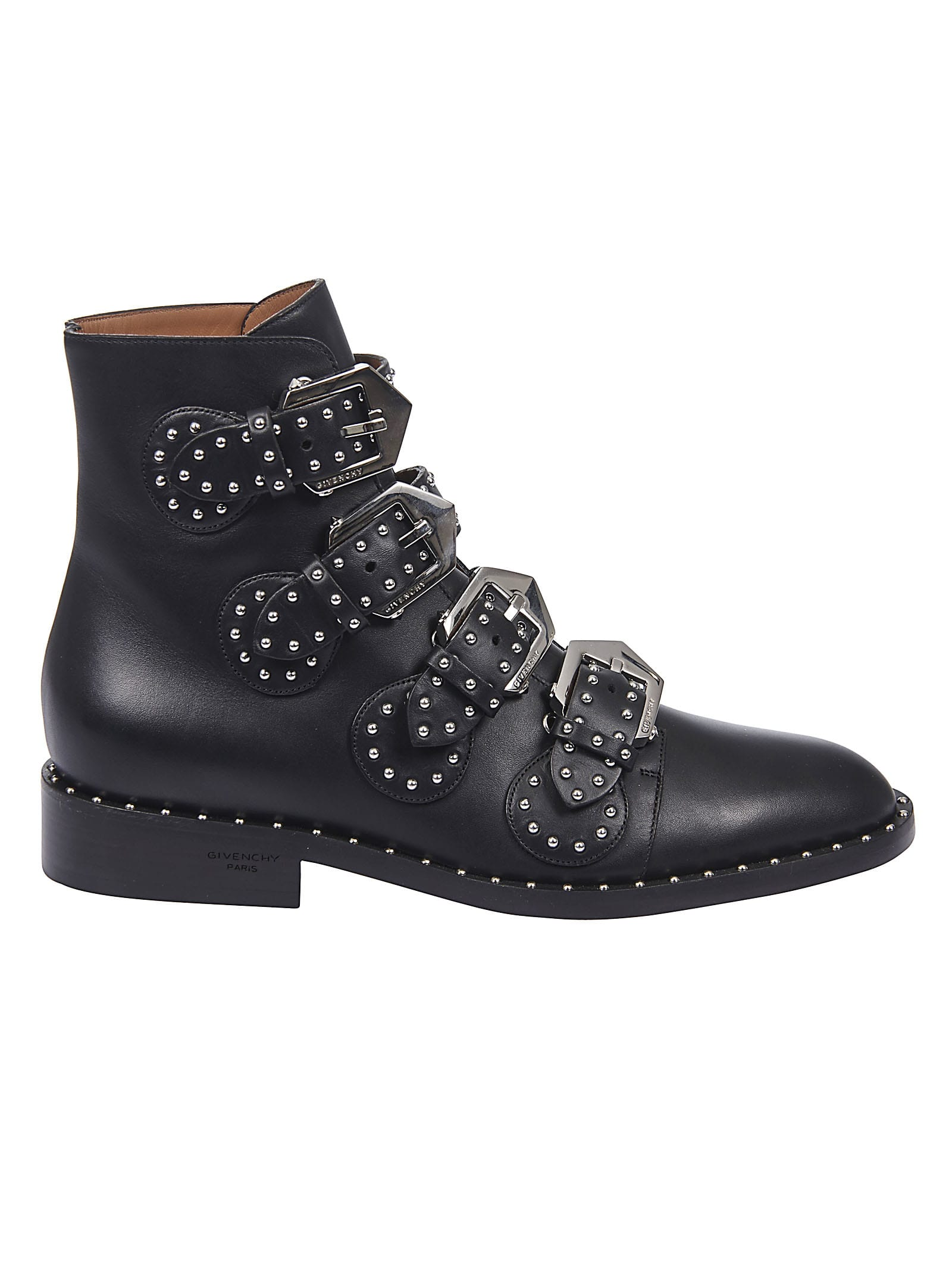 Givenchy Boots BUCKLED ANKLE BOOTS