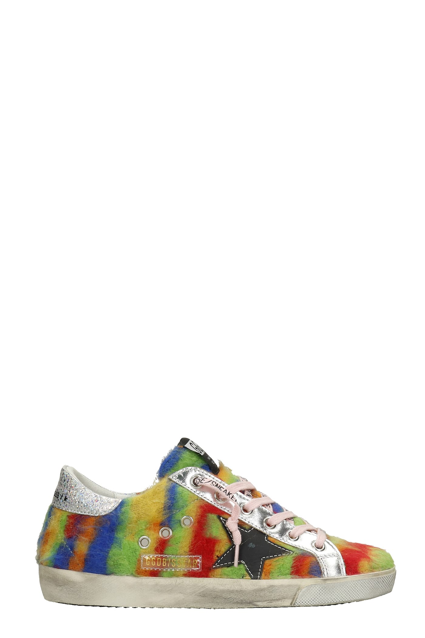 Golden Goose Superstar Sneakers In Multicolor Synthetic Fibers