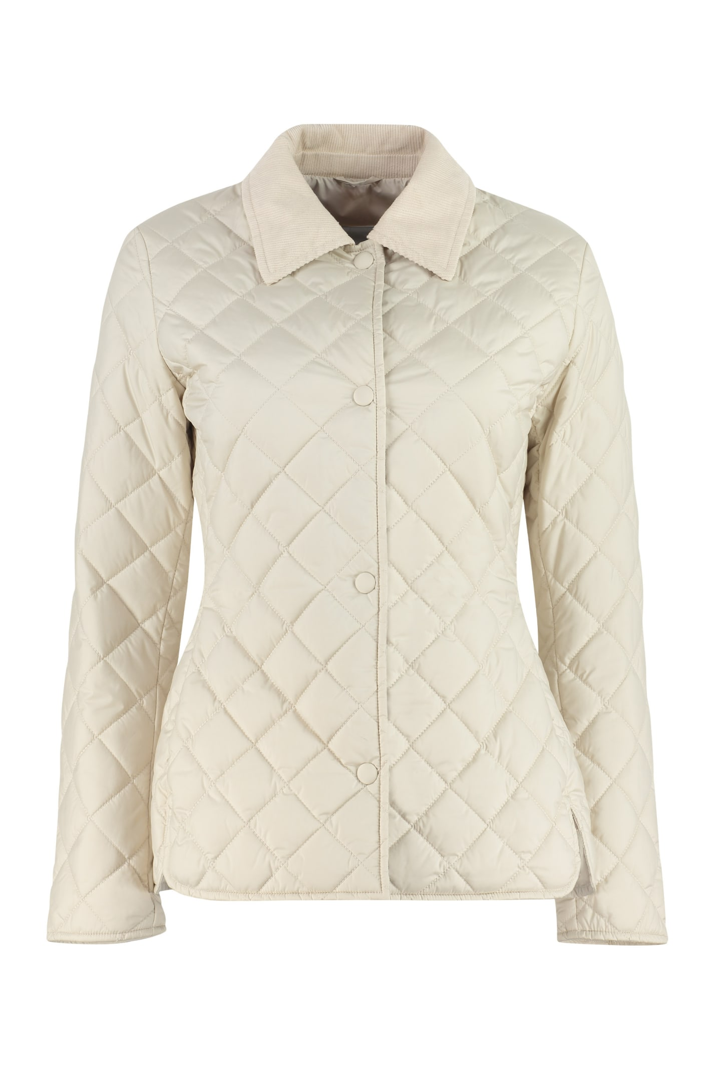 Quilted Jacket With Snaps