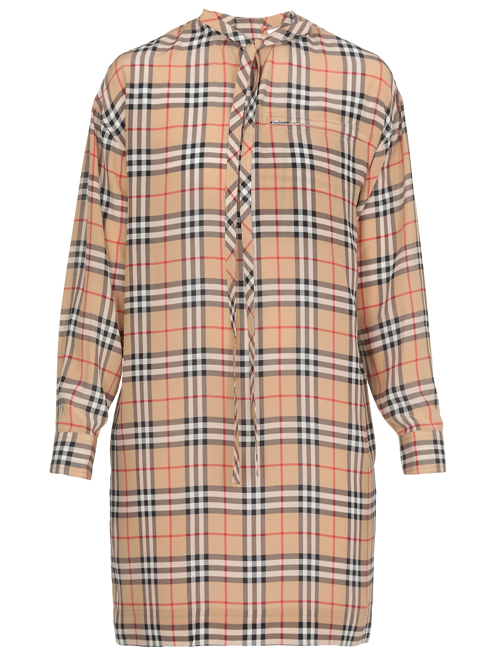 Buy Burberry Carlie Dress online, shop Burberry with free shipping